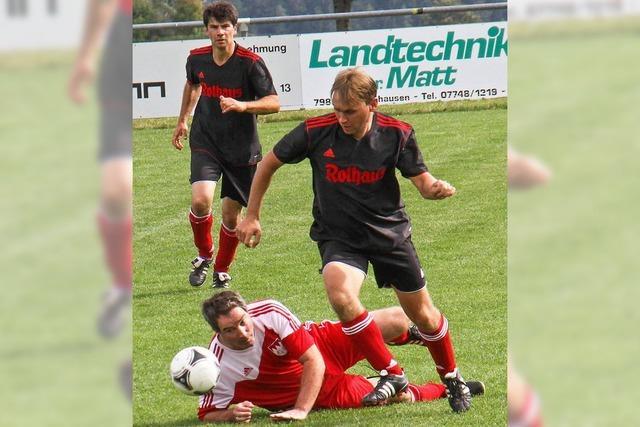FC Birkendorf siegt beim AH-Turnier