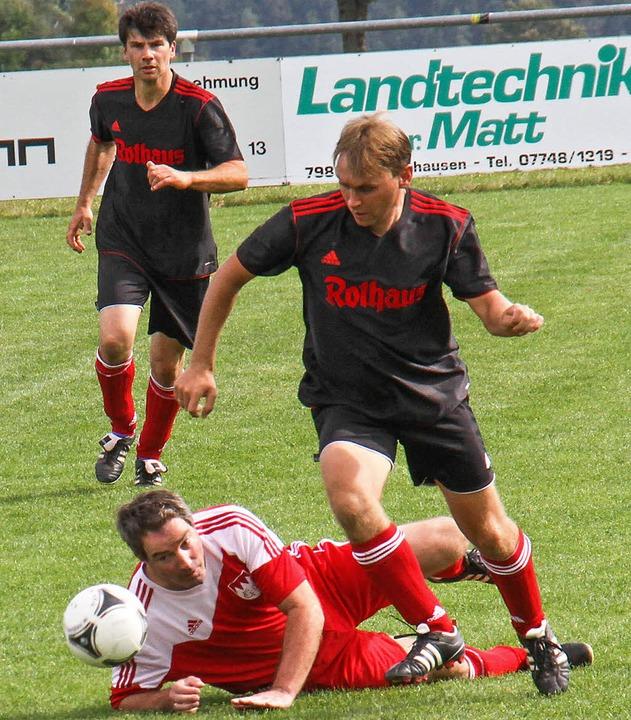 Zehn Mannschaften – hier Grafenh...ier in Grafenhausen gegeneinander an.   | Foto: Chris Seifried
