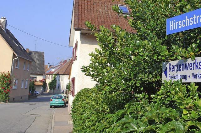 Hirschstraße soll im nächsten Jahr saniert werden