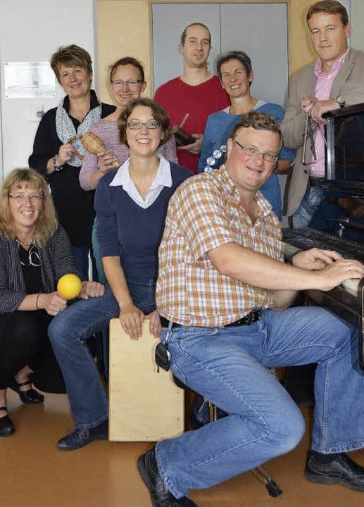 Für ein neues musikalisches Inklusions...shilfe und Pestalozzi-Schule zusammen.  | Foto: Nikola Vogt
