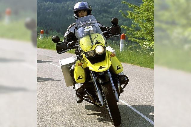 War doch kein Motorradhasser am Werk?