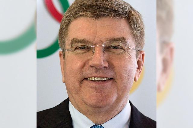 Bach wird IOC-Präsident
