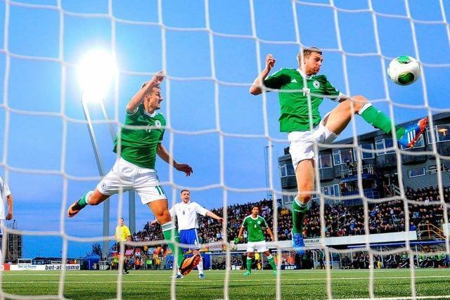Deutschland gewinnt 3:0 gegen Färöer