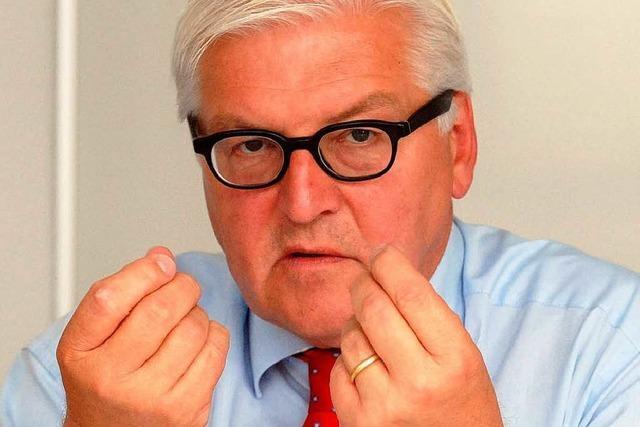 Steinmeier: Deutsche Außenpolitik verliert Einfluss