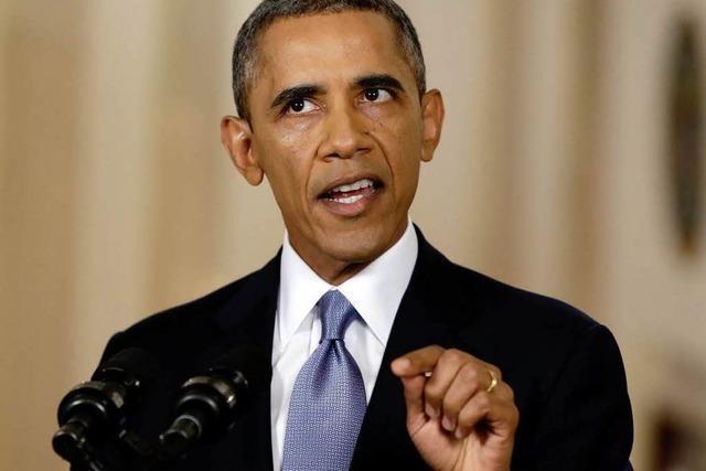 Obama schiebt US-Militärschlag gegen Syrien auf