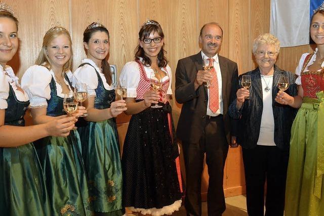 Bötzingen feiert seine dritte Weinprinzessin