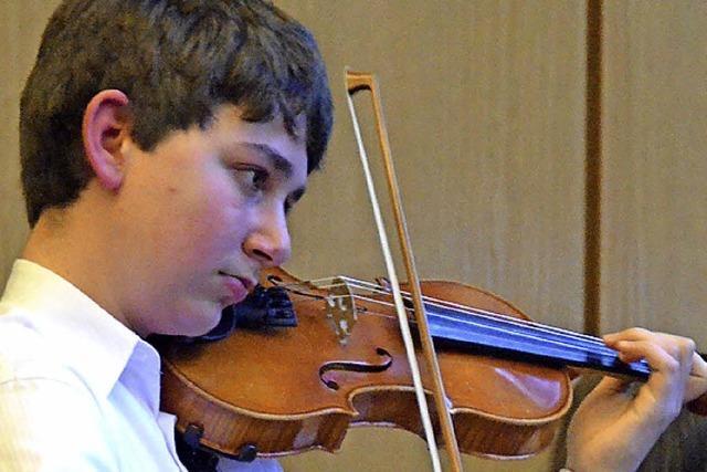 Wettbewerb für junge Musiker