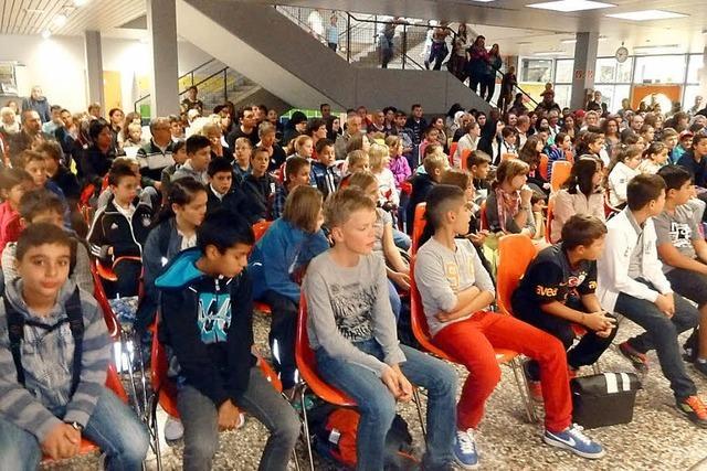 Realschule geht mit 96 Fünftklässlern ins Schuljahr