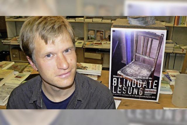 Blind-Date-Lesung mit Jens Steiner: Acht aus zwanzig
