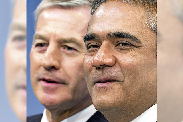 Deutsche Bank bleibt bei Doppelspitze
