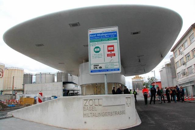 Weil am Rhein-Friedlingen: Zoll nimmt neues Gebäude in Betrieb