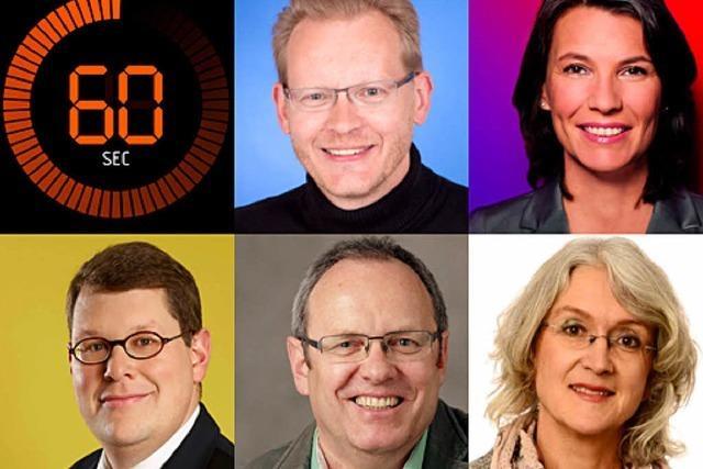 Wahlprogramm der Waldshuter Kandidaten in 60 Sekunden