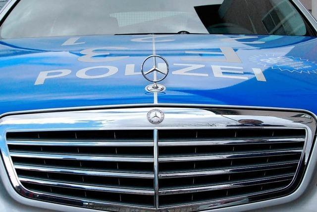 Im Rhein versunkenes Polizeiauto bleibt verschwunden