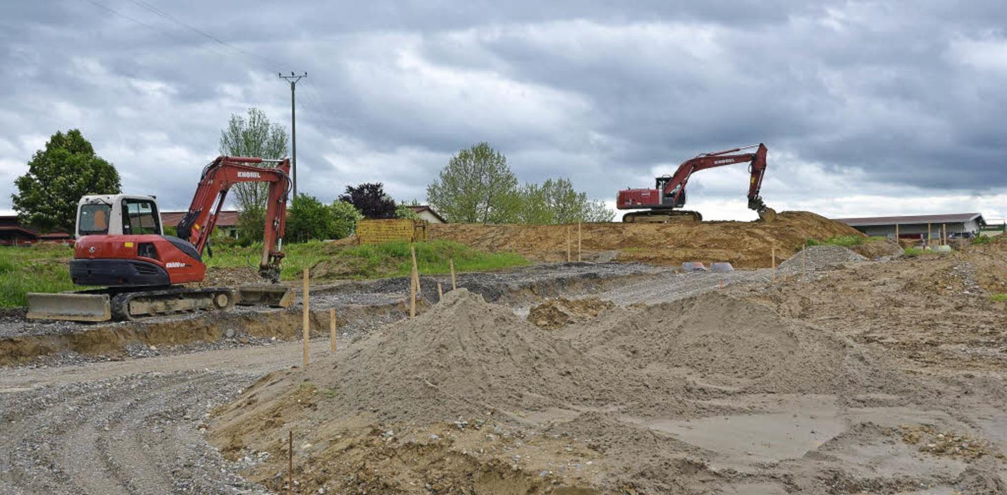 In der Region wird gebaut: Platz für 1...gebiet in Kandern-Tannenkirch bieten.   | Foto: Markus Maier