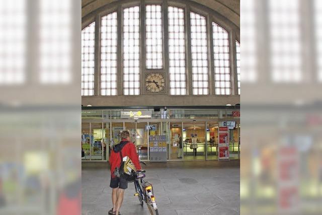 Der Badische Bahnhof Basel ist ein Ort der Begegnung