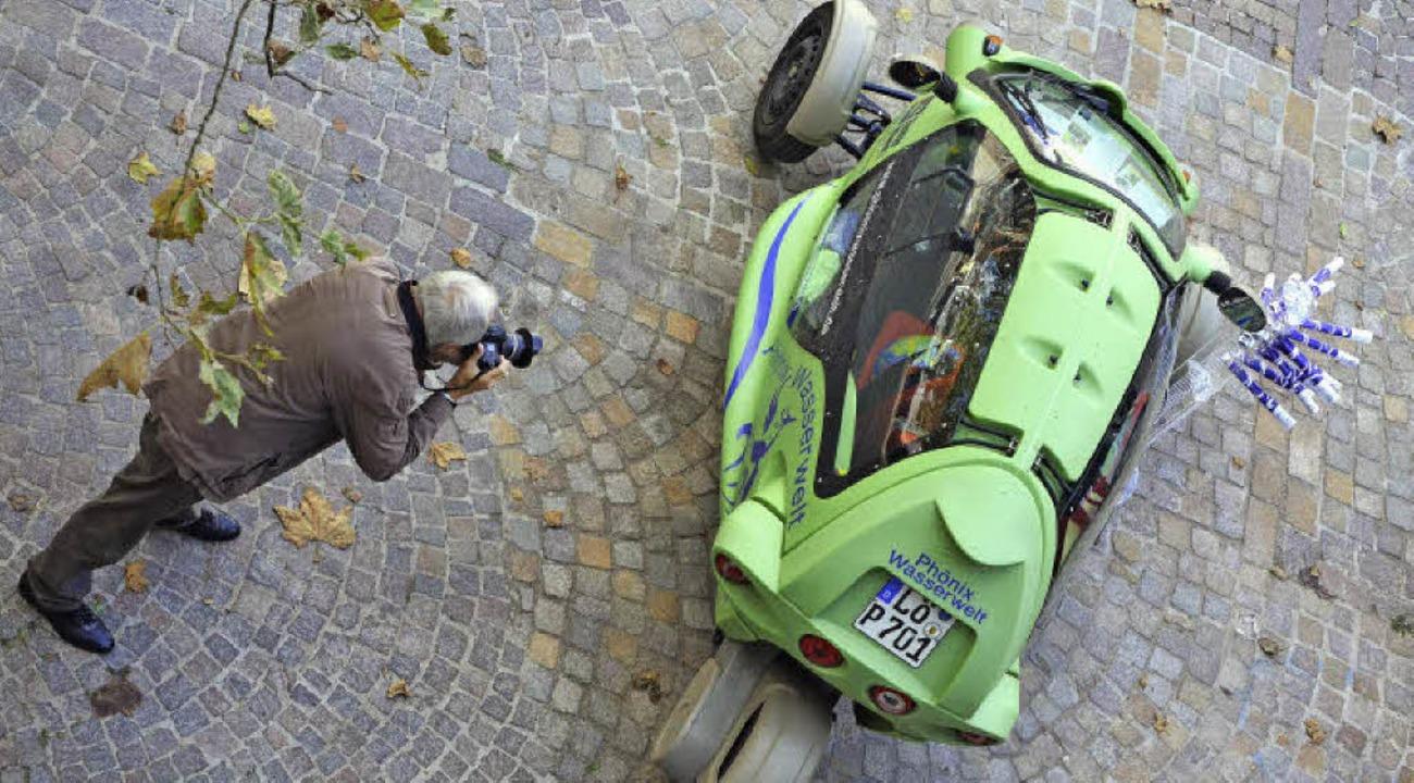 Das ein oder andere Elektrofahrzeug fand seine Bewunderer.  | Foto: Barbara Ruda Redaktion