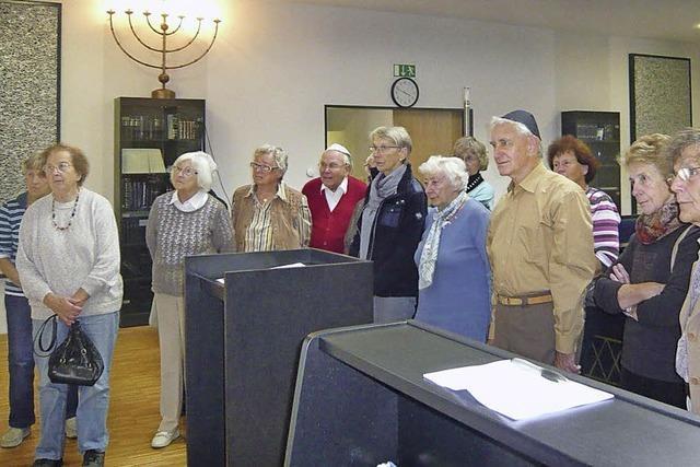 Zu Gast im jüdischen Gotteshaus