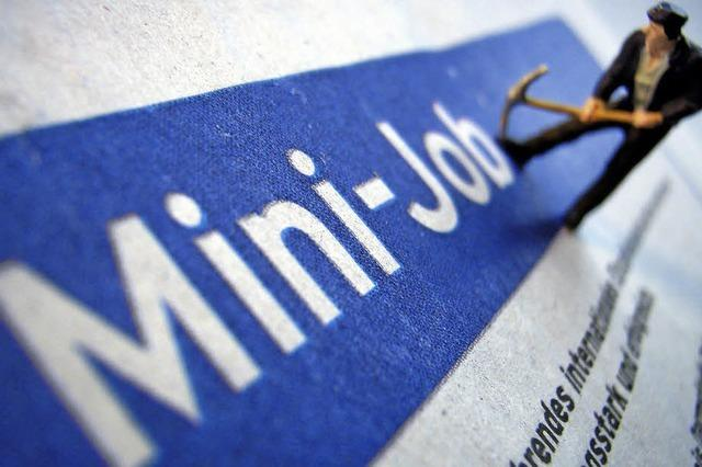 Rechte von Minijobbern: Mehrarbeit gesucht