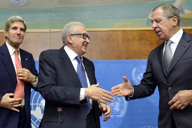 USA und Russland halten an Syrien-Konferenz fest