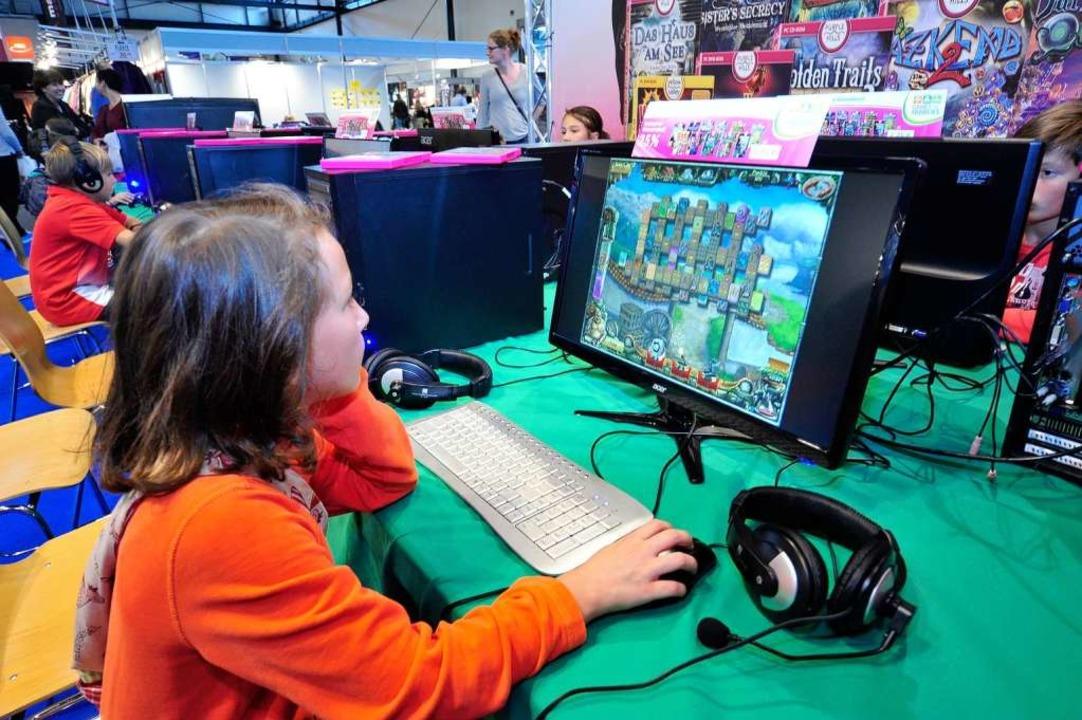 "Neu: Die Computerspielmesse ""Games fpr Families""  | Foto: Thomas Kunz"