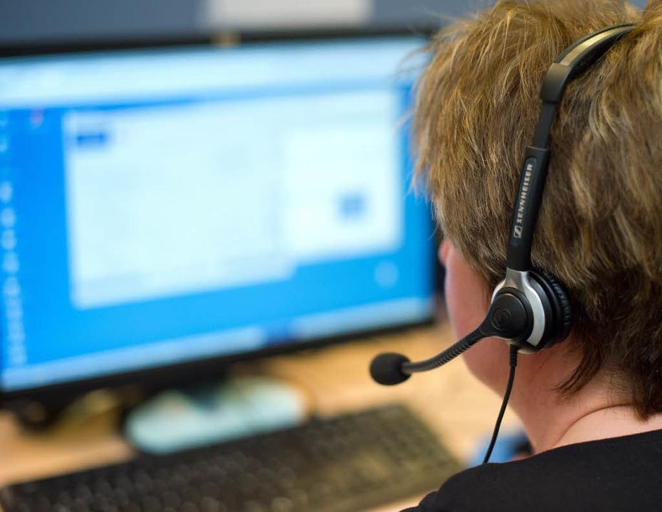 Was wird aus den fast 200 Call-Center-Mitarbeitern in Schutterwald? (Symbolbild)  | Foto: dpa