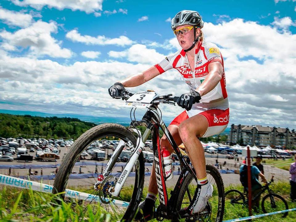 Weltbeste Sprinterin unter den Bikerinnen: Alexandra Engen   | Foto: Küste