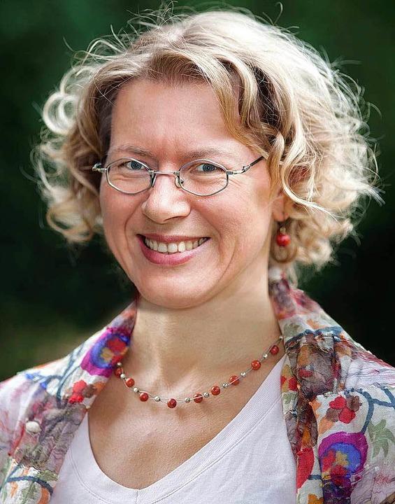 Elke Fein und die Gartencoop sind sich nicht mehr grün.  | Foto: Dieter Ruf