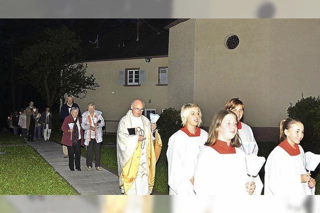 Patroziniumsfeier auf dem Litzelberg