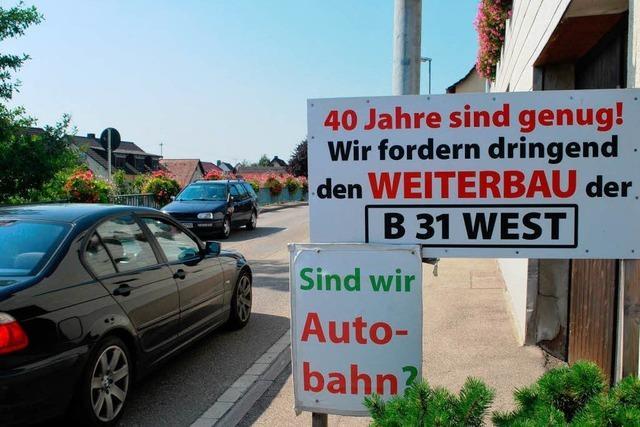 Streit um die B 31 West: Kommunen ziehen vor Gericht