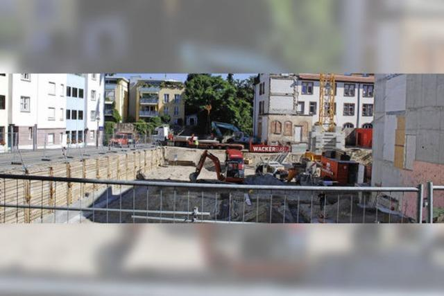 Bau des Marienhauses geht nach einjähriger Zwangspause weiter