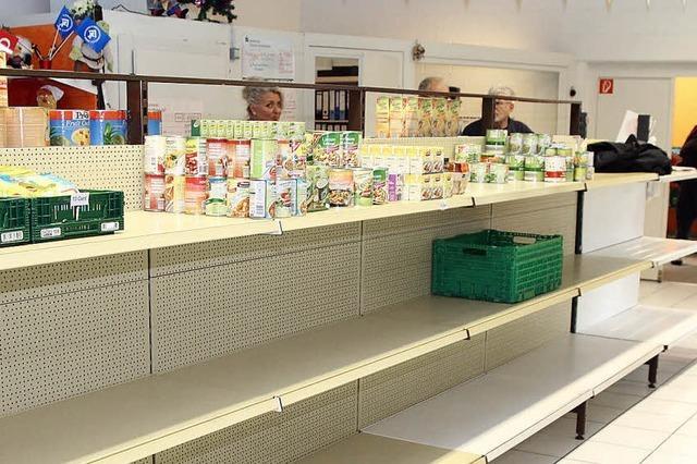 Tafelladen hofft auf Lebensmittelgaben