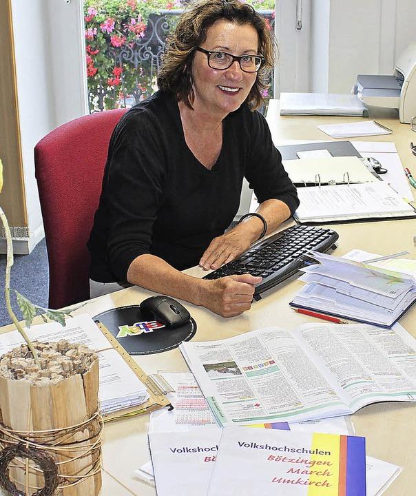 Cornelia Jaeger koordiniert im Rathaus... auch für Eichstetten und Gottenheim.   | Foto: mario schöneberg