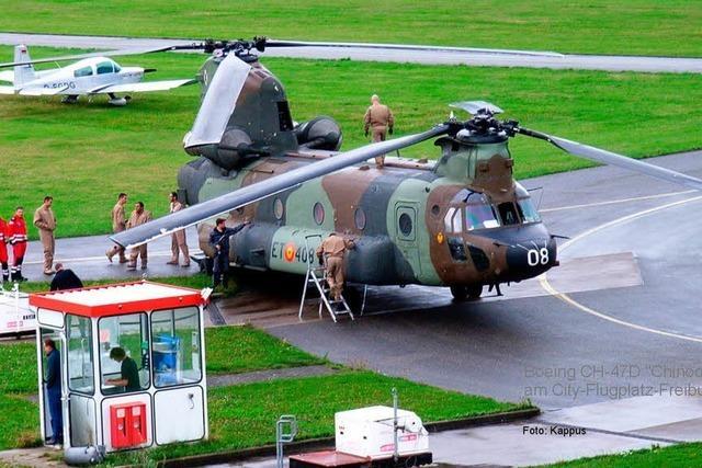 Rätsel um Hubschrauber über Emmendingen ist gelöst