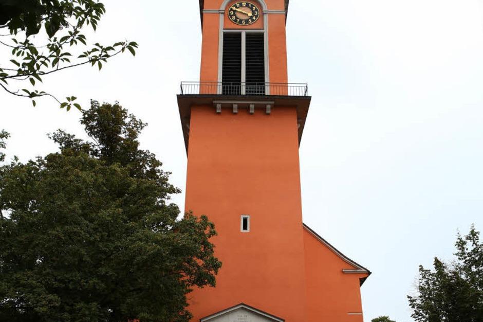 Ansichten der Friedenskirche in Altenheim. (Foto: Christoph Breithaupt)