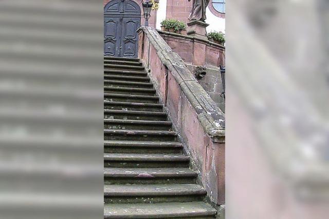 Sanierung des Kirchenportals startet im Herbst