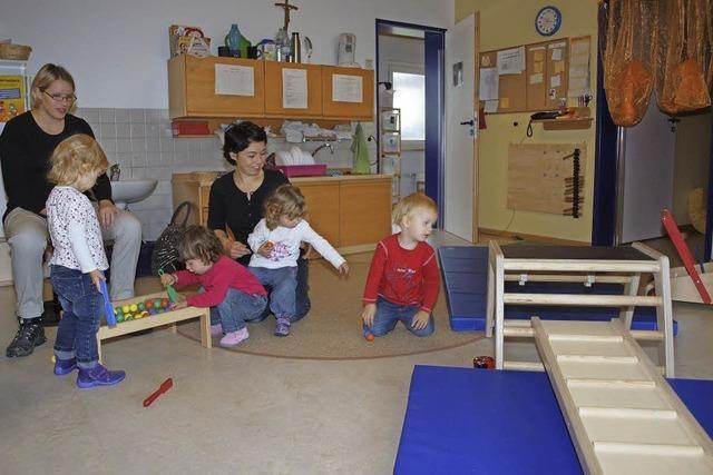 Anbauten für Kindergärten