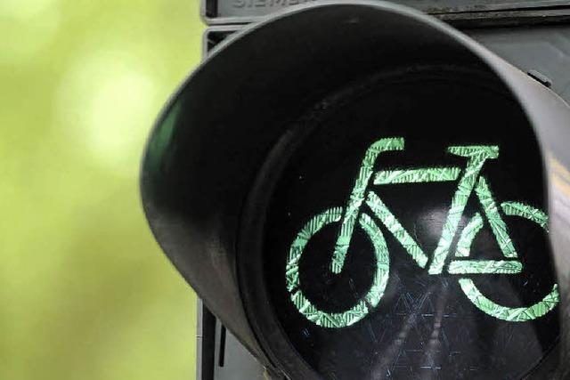 Fußgänger und Radler im Fokus