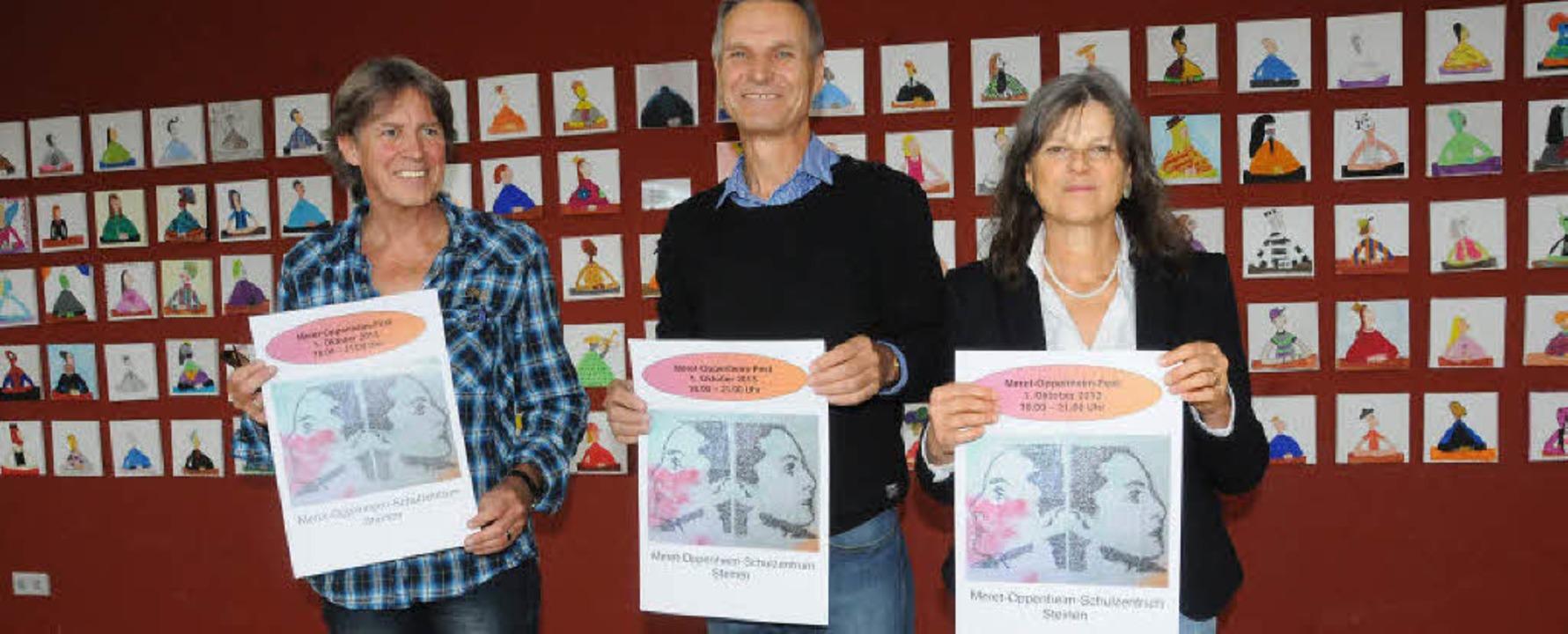Namensfest: Fridolin Walch, Rektor Wol... Programm sieht vielversprechend aus.   | Foto: Robert Bergmann