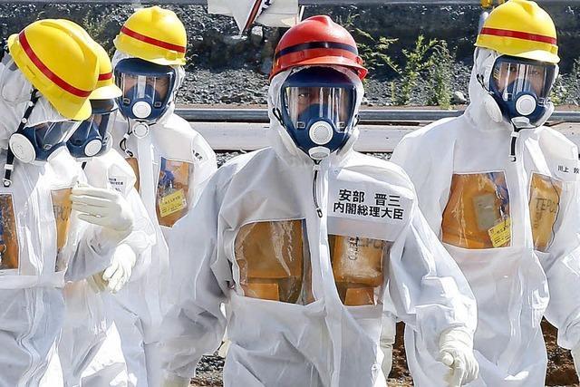 Japans Premier Abe erklärt Fukushima zur Chefsache