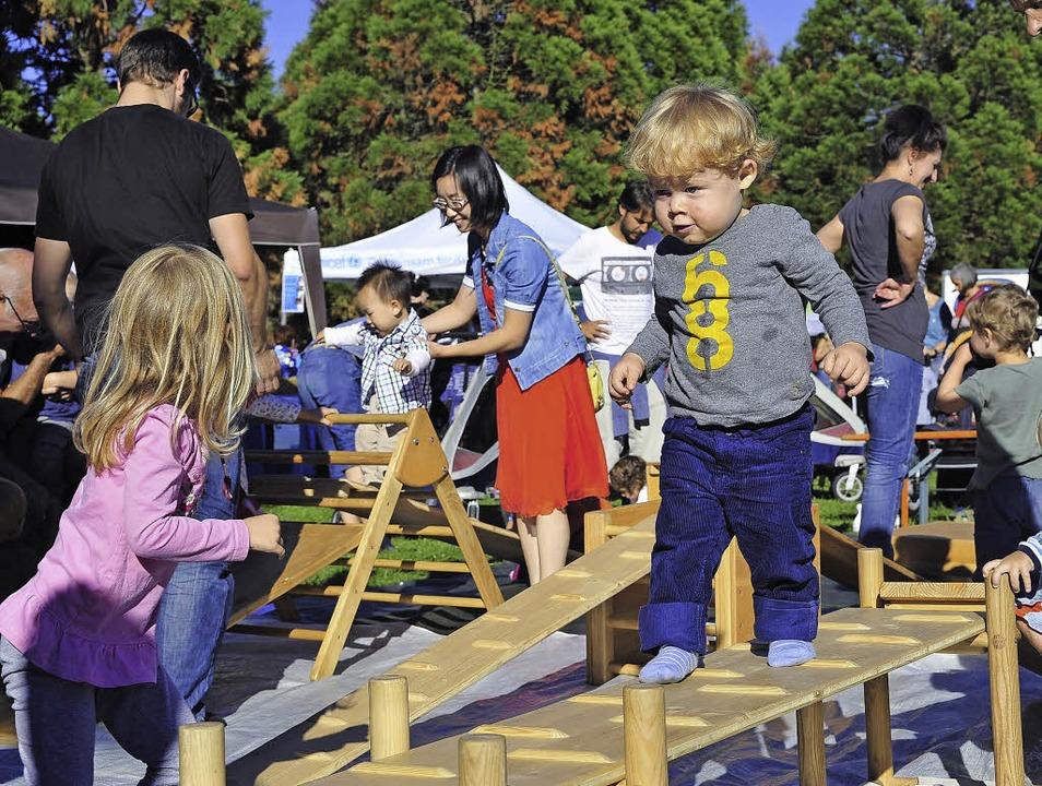 Auch für die Kleinsten spannend: Weltkindertag im Seepark   | Foto: th. kunz