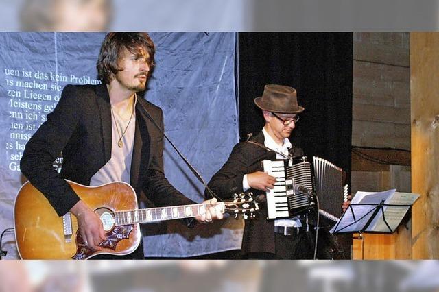 Ein Abend mit Herr Lehrerin und Herr Musikerin