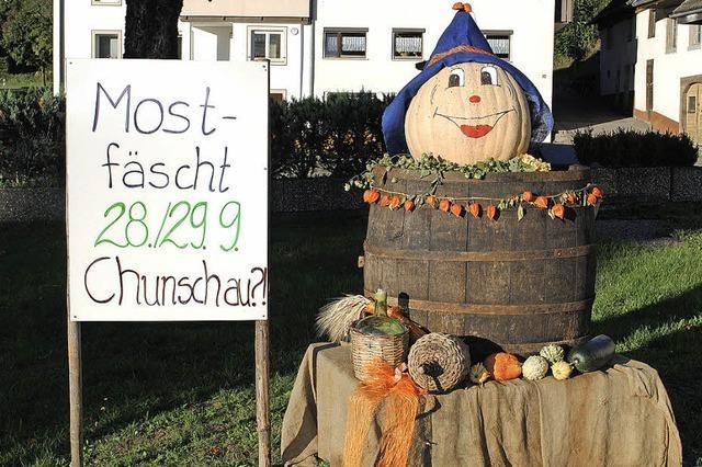 Most- und Kürbisfest in Mauchen