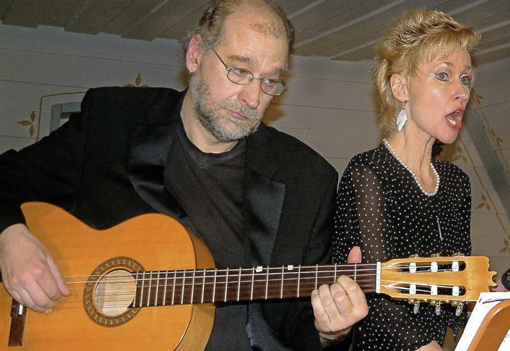 Andreas und Barbara Wäldele lassen die...s Shtetl musikalisch wieder aufleben.   | Foto: Archivfoto: Roswitha Frey