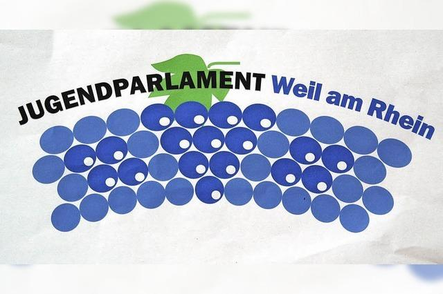 Trauben, die ein Parlament andeuten