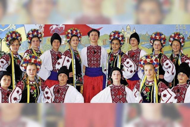 """Ukrainische Tanz- und Folkloregruppe """"Tschervona Ruta"""" in Buchenbach"""