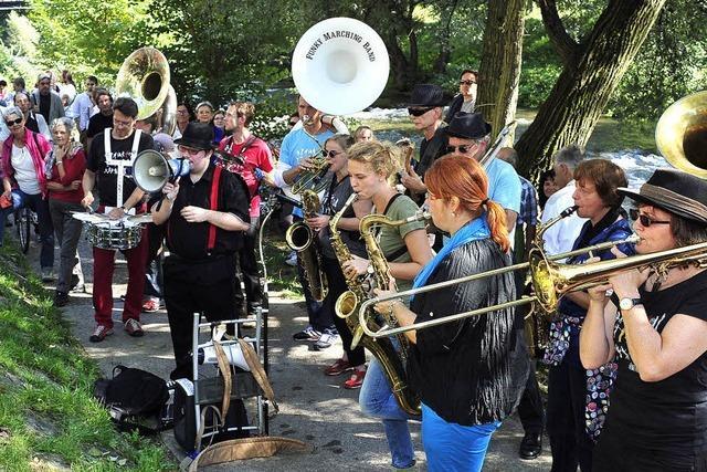 Freiburger Jazzfestival: Echte Wassermusik