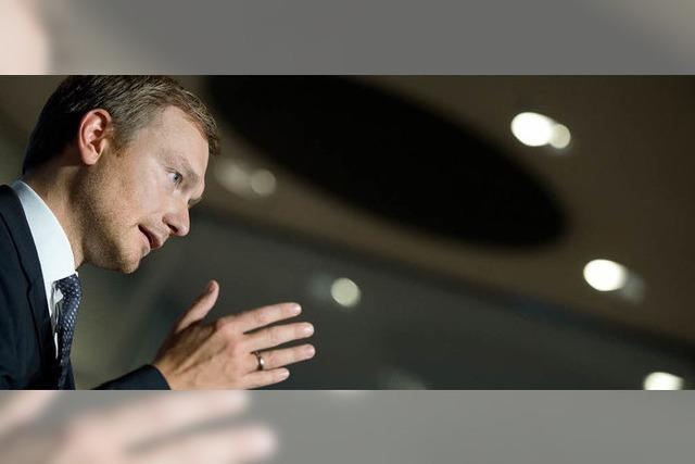 Christian Lindner - Kapitän ohne Mannschaft