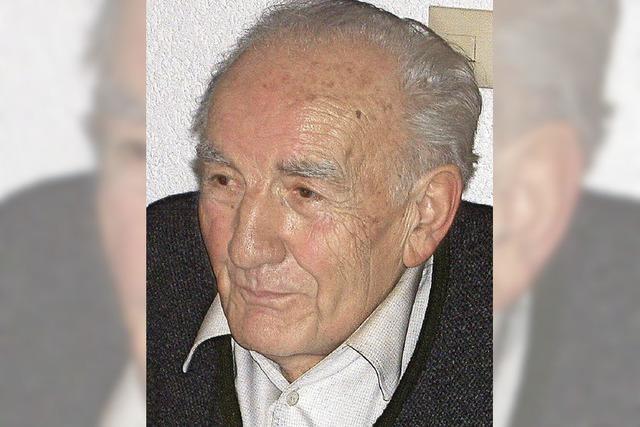 Trauer um Altgemeinderat Willi Herr