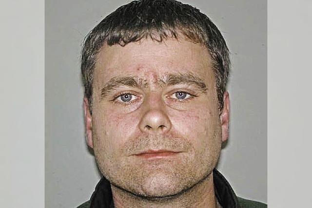 Die Polizei sucht nach Mike Blötscher