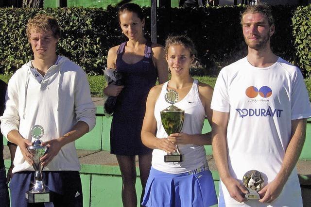 Klaus Jank: Aus bei der Freiburger Tennis-Stadtmeisterschaft